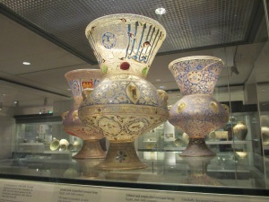 Some Islamic art on display in Londo