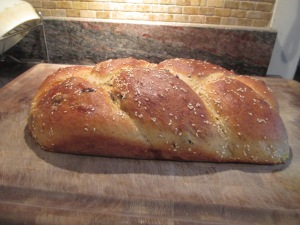 Challah (egg bread)