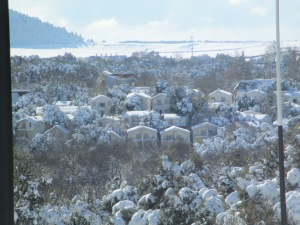 Beautiful snowy Ifrane